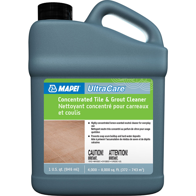 Concentrated Tile and Grout Cleaner - 1 Quart