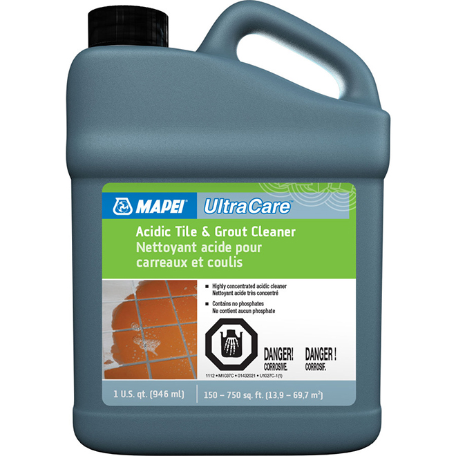 Acid Cleaner for Tile and Grout