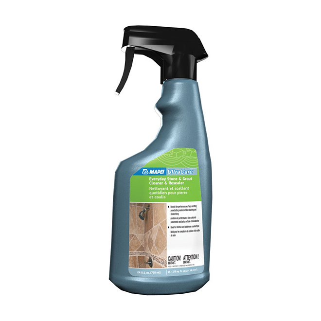 Everyday Cleaner and Resealer for Stone and Grout