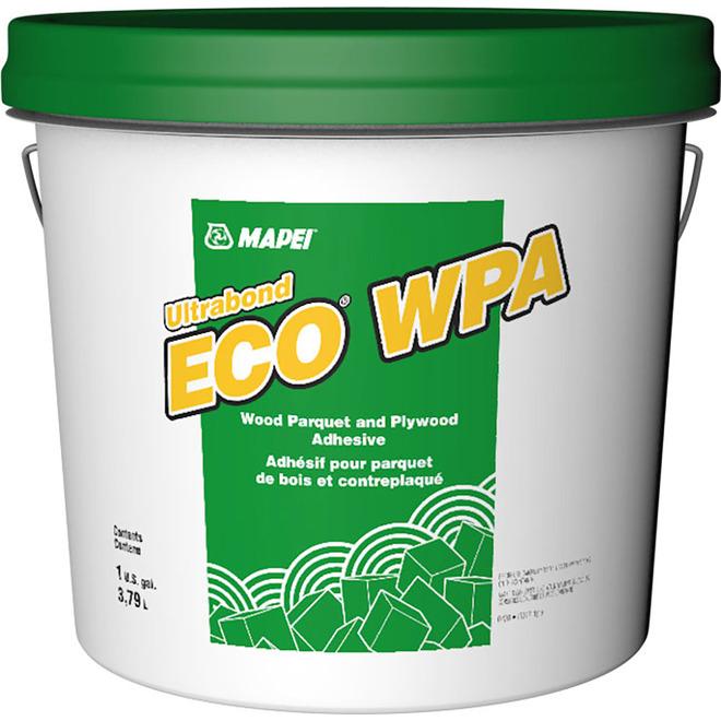 MAPEI Ultrabond Eco(R) WPA Adhesive - Acrylic - 3.78 L - Off-White