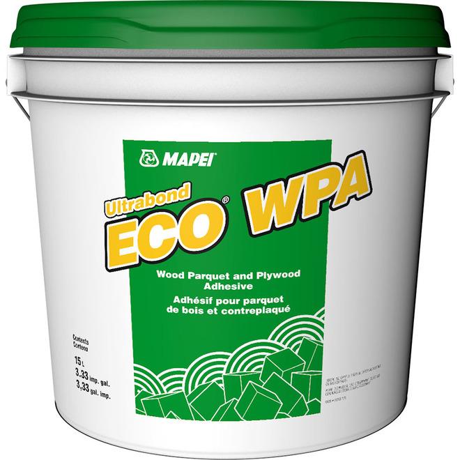 MAPEI Ultrabond Eco(R) WPA Adhesive - Acrylic - 15.1 L - Off-White