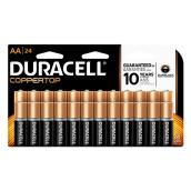 Duracell(R) Coppertop AA Batteries - Pack of 24
