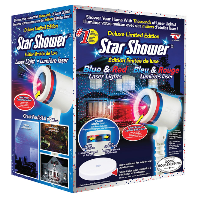 Laser Star Projector - Blue/Red