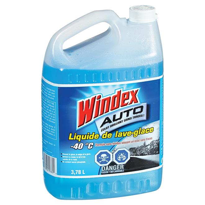 Liquide de lave-glace automobile, -40°C, 3,78 l