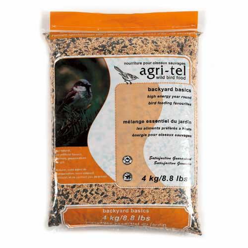 Graines pour oiseaux sauvages, 4 kg