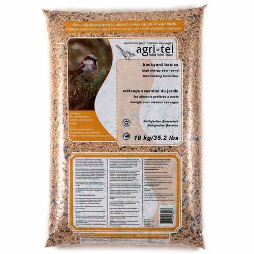 Mélange pour oiseaux sauvages, 16 kg