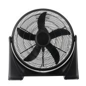 Utilitech - Air Circulatory Fan - 20-in 3-Speed - Black