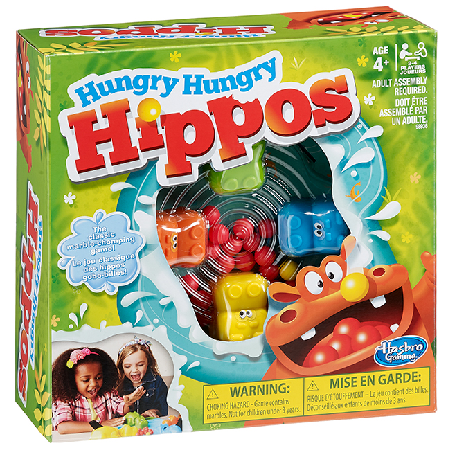 """Hungry Hippos"" Game"