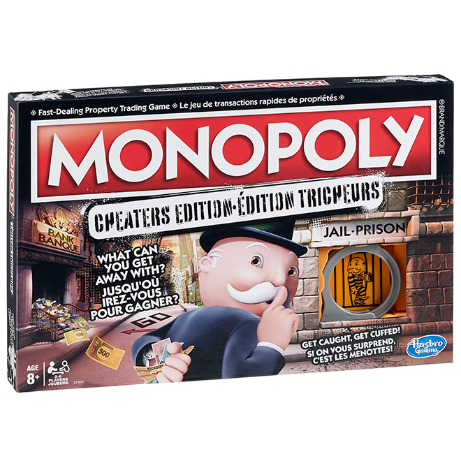 """Monopoly"" Game - Cheaters Edition"
