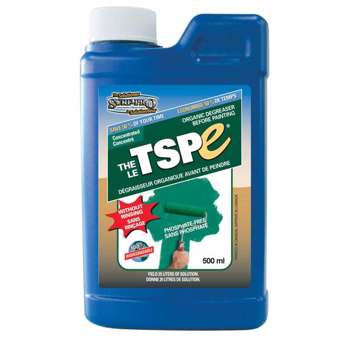 Nettoyeur de surface à peindre biodégradable TSPE Surf-Pro, dégraisseur, sans rinçage, sans phosphate, 500 ml