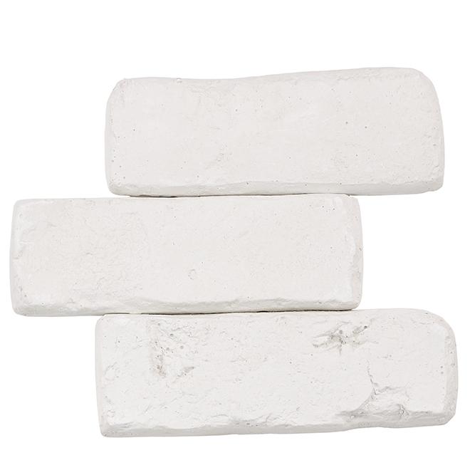 Modulo Decorative Brick - White - 10.76 sq. ft.