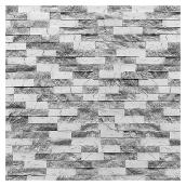 Decorative Stone - Box/10 - 12 sq.ft. - White/Black
