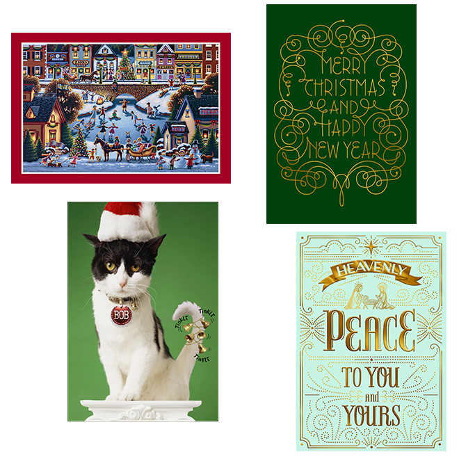 Christmas Cards - English - Paper - 16/Pk