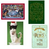 Christmas Cards - English - Paper - 16/Pk
