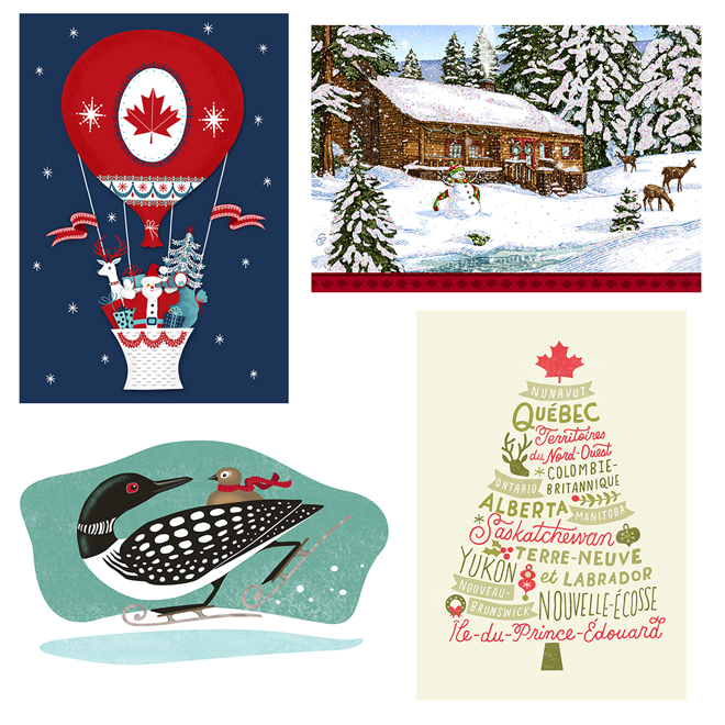 Hallmark Christmas Cards.Hallmark Christmas Cards French Paper 16 Pk Pxq8513 Rona