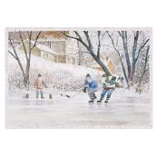 Hallmark Christmas Greeting Card - Hockey - 16-Pack