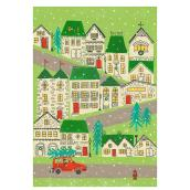 Christmas Greeting Card - Neighborhood - 16-Pack