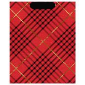 Hallmark Gift Bag - Plaid - Large - Red