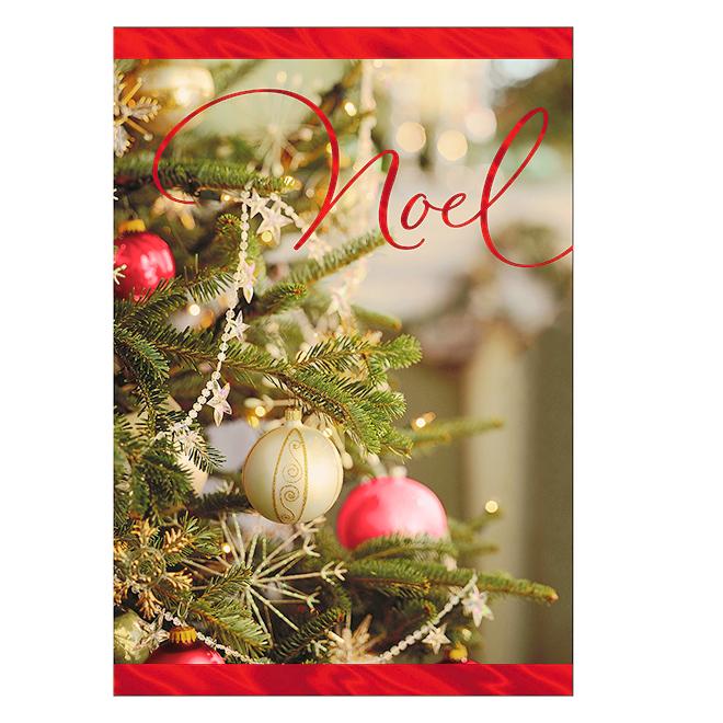 Hallmark Greeting Card - Christmas Tree - Pack of 16
