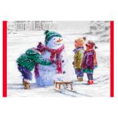 Hallmark Greeting Card - Children/Snowman - 16-Pack