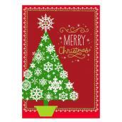 Hallmark Greeting Card - Christmas Tree - Red/Green - 16-Pack