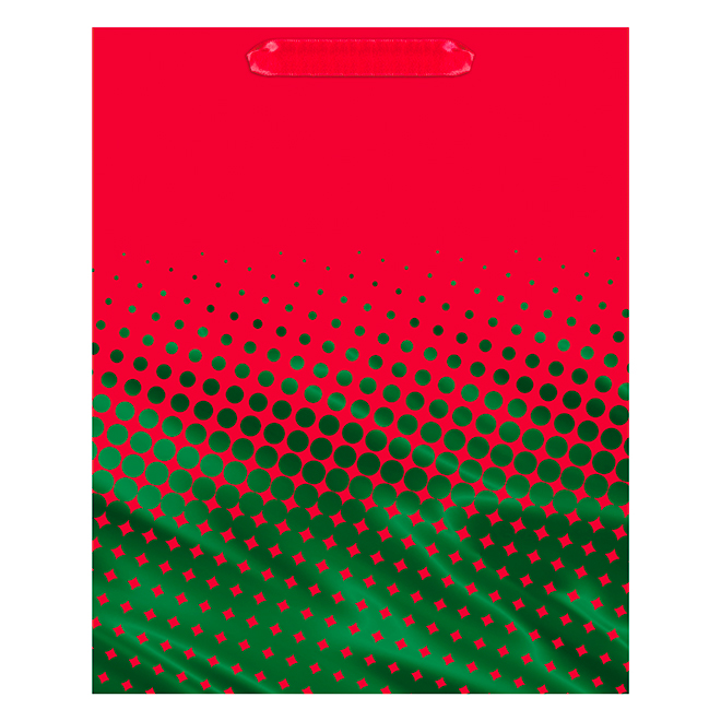 Hallmark Gift Bag - Large Size - Red/Green