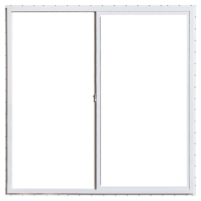 """Horizontal Sliding Window - PVC - 47.25"""" x 47.25"""" - White"""