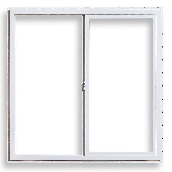 "Sliding Double Window - PVC - 47 3/4"" x 29 1/2"""