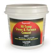 Ciment haute température, 3,78 l, gris