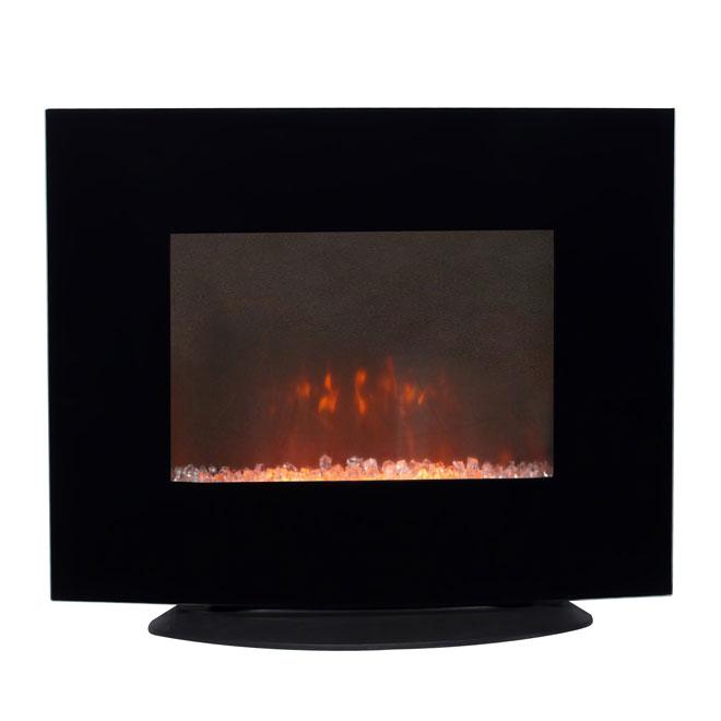 Uberhaus Wall Mount Electric Fireplace 750 W 1500 W 26