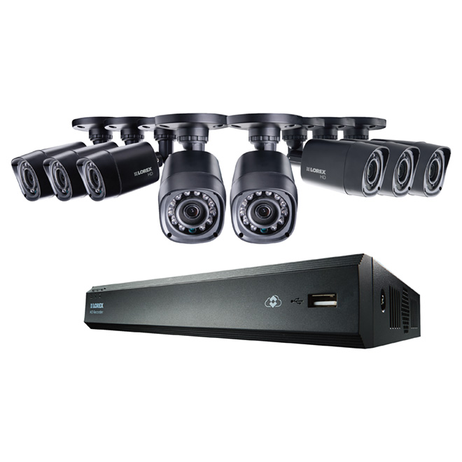 Security System - Indoor/Outdoor - 8 Ch - 720p - 1TB