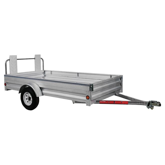 Galvanized Steel Expandable Trailer - 5' x 10'