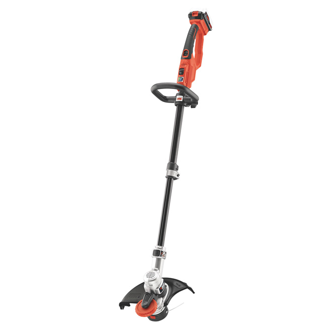 black  u0026 decker 12-in cordless trimmer and edger
