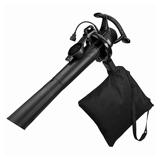 Black & Decker 3-in-1 Electric Leaf Blower - 12 A - 210 mph - 2-Speed
