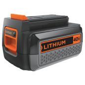 Batterie au lithium-ion 40 V Max- 2,5 A