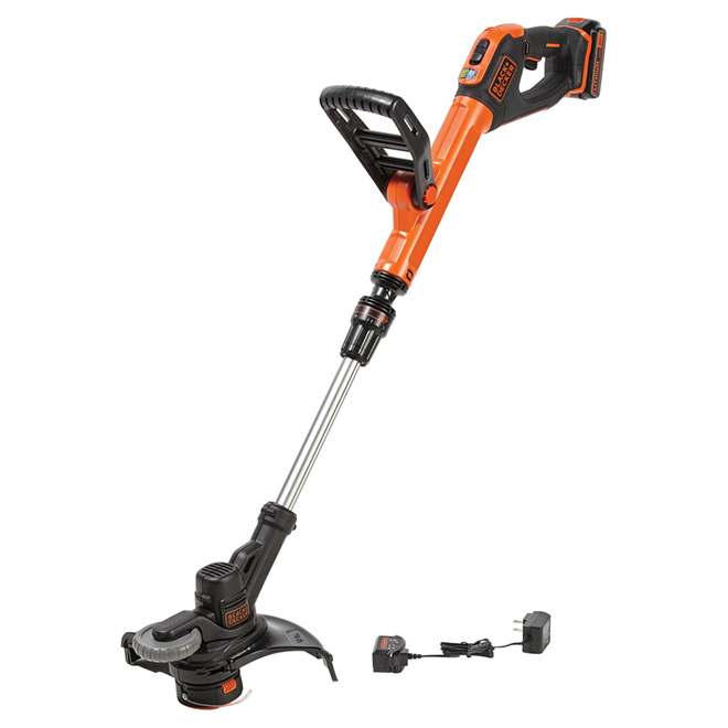 "Cordless String Trimmer/Edger - 2 Speeds - 12"" - 20V"