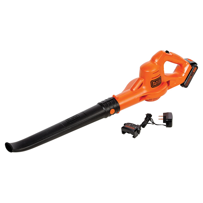 Black & Decker Cordless Blower - 20 V Lithium-Ion - 130 mph