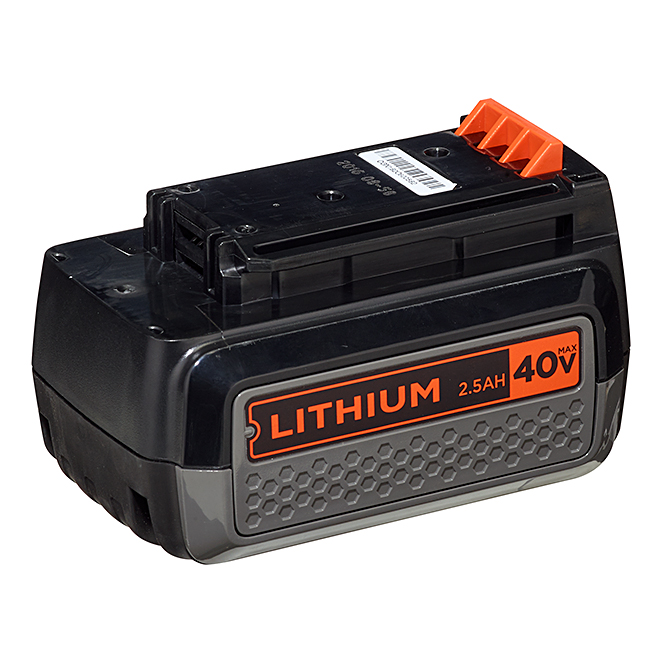 Black & Decker 40 V MAX Lithium Ion Battery - 2.5 A
