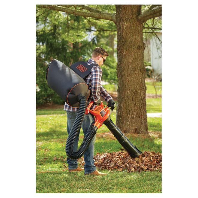 3-in-1 Vacpack(TM) Leaf Blower/Vacuum/Mulcher - 12 A