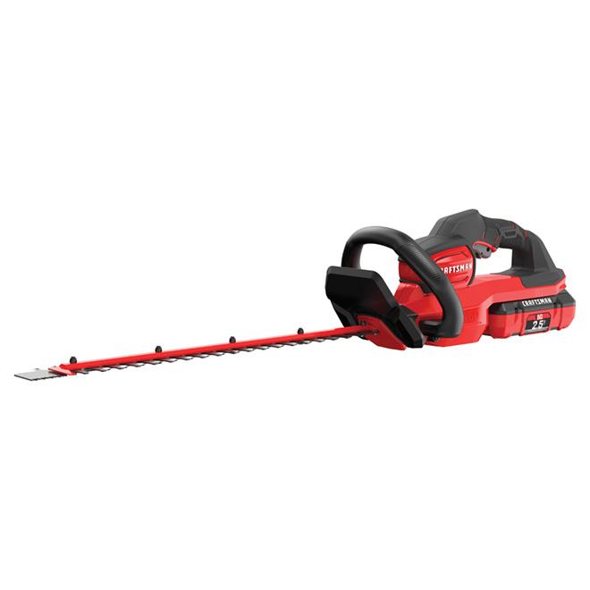"Cordless Hedge Trimmer - 24"" - 60 V - Red/Black"