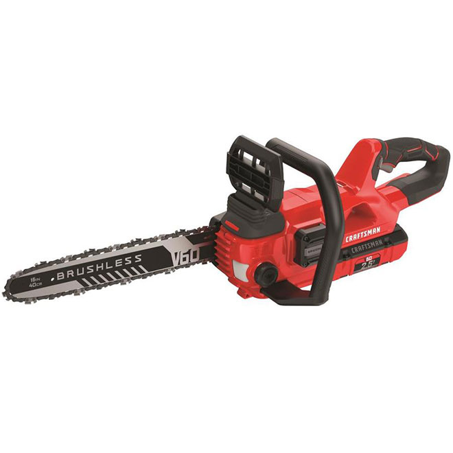 "Chainsaw - Electric 60V Max - 16"" - 2.5 Ah"