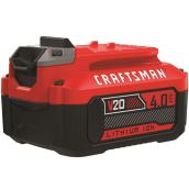 Craftsman Battery - V 20 MAX - 4 Ah - Lithium-Ion