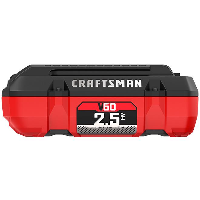 V60 Battery - Lithium Ion - 60 V - 2.5 Ah
