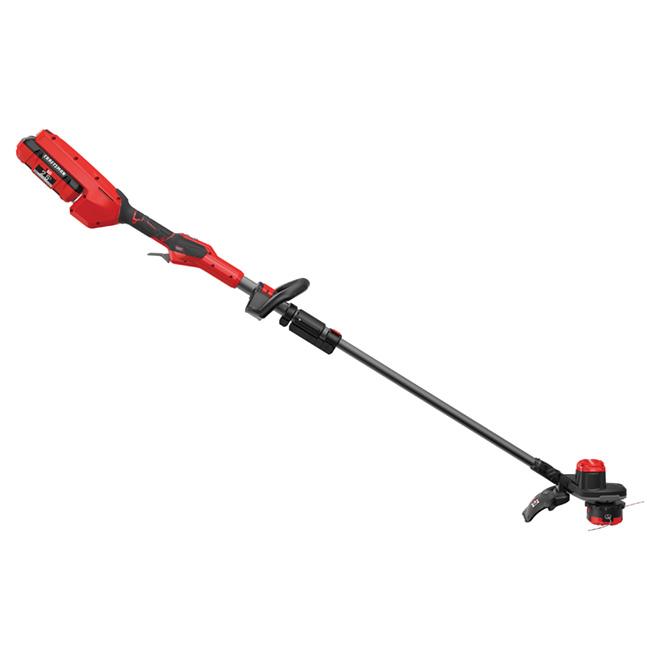 Cordless Edge Trimmer - 60 V - Red and Black