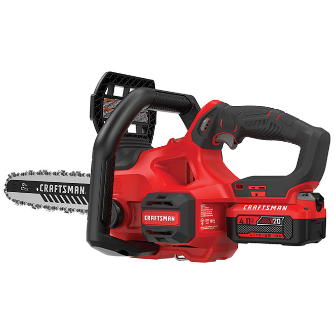 Craftsman Compact Chainsaw - 20 V Cordless - 12-in