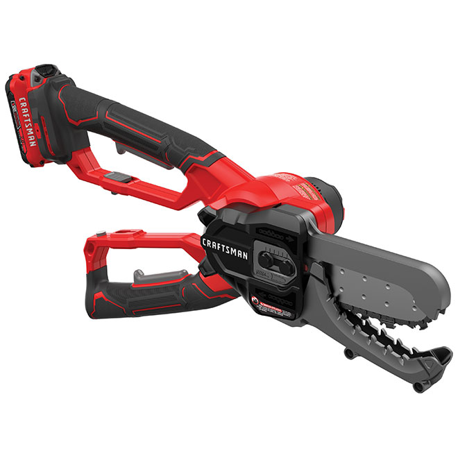 Electric Hedge Trimmer - 20 V - Red and Black