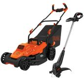 Black & Decker Mower and String Trimmer Combo - Electric