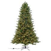 Arbre de Noël illuminé, 800 lumières, 1787 pointes, 7,5'