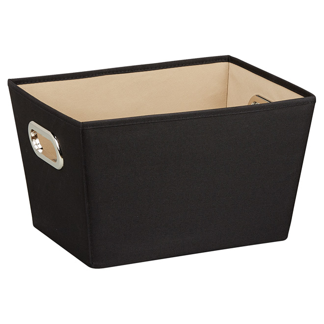Small Storage Bin - 15.8 L - Black