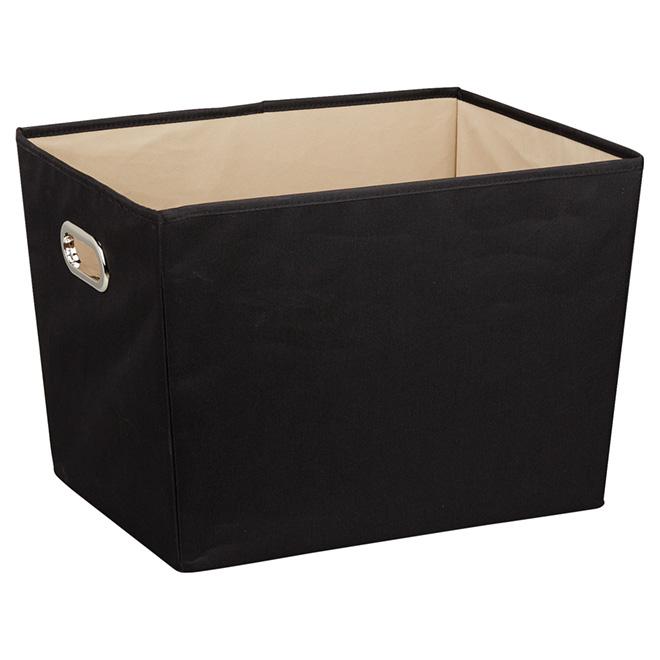 Large Storage Bin - 56,7 L - Black